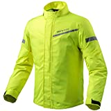 REV'IT! CYCLONE 2 H2O Motorrad Regenjacke - neon gelb Größe 3XL