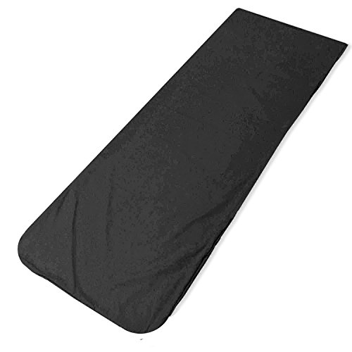 Add-gear™ Sleeping Bag Liner 100% Cotton Soft Lightweight Sleep Sack Liner for Rented Sleeping Bags (Pack of 2)