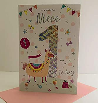 For A Special Niece On Your 1st Birthday Card