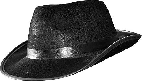 Costumes Al Capone - Chapeau Al Capone Noir