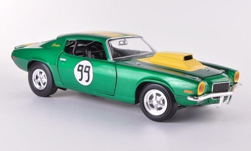 Preisvergleich Produktbild Chevrolet Camaro 350, No.99, ''The Dukes of Hazzard - Cooter's Chevy Camaro'' , 1970, Modellauto, Fertigmodell, Johnny Lightning 1:18