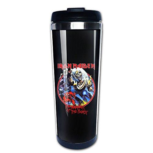 Iron Maiden Heavy Metal Band Fans Geschenk Edelstahl Vakuum Tasse Kaffee -
