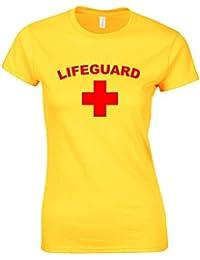 LIFEGUARD Ladies Yellow T-Shirt