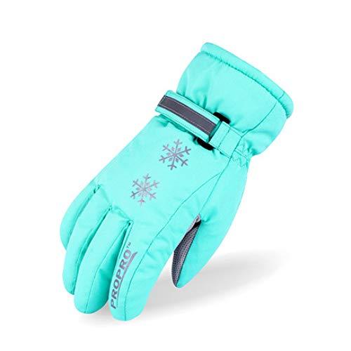 38c1b1b6bc5d2 SUNHAO Gants pour Enfants Gants de Ski pour Enfants Épaisses Gants en Coton  d'hiver