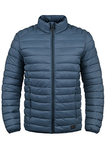 Blend Nils Herren Steppjacke Übergangsjacke Jacke mit Stehkragen, Größe:S, Farbe:Ensign Blue (70260)