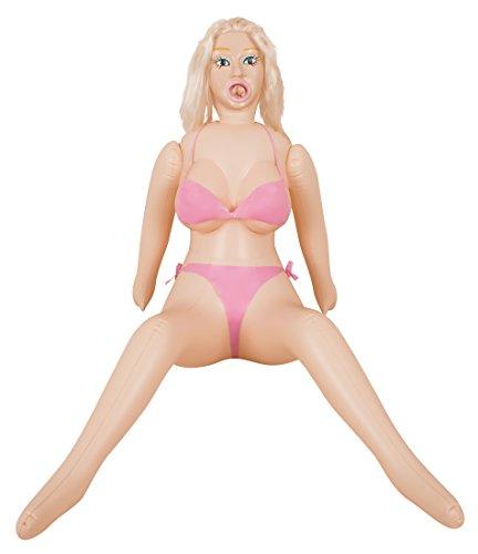 You2Toys Sexpuppe Bridget Big Boobs Love-Doll - Lebensgroß aufblasbare Liebespuppe mit großen Brüsten, 3 Öffnungen und 3D-Gesicht