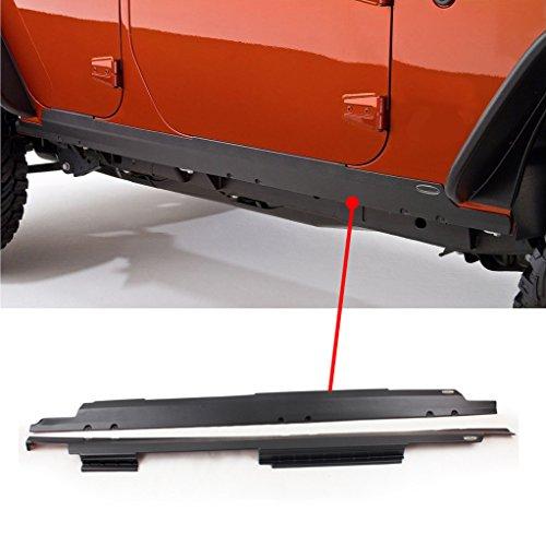 Wotefusi Schweller Seite Eintrag Sill Kleiderschutz Für 07-2015 Jeep Wrangler Jk 4 Tür, MEHRWEG -