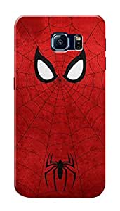 Samsung Galaxy S6 Edge+ Black Hard Printed Case Cover by HACHI - Spiderman Fans design