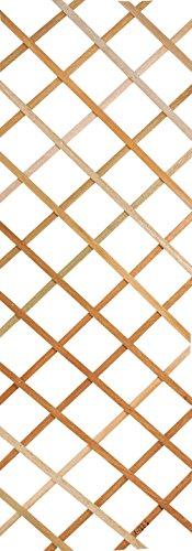 Galleria fotografica Verdemax 75801,8x 0,3m Extensible Traliccio in legno, naturale