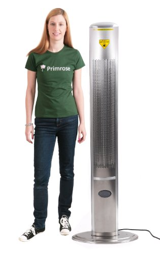 1.800 Watt Firefly™ Infrarot-Heizstrahler (Halogen) Terrassenheizung, freistehend, 2 Leistungsstufen, inkl. Fernbedienung - 2