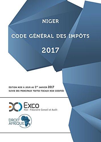 Niger - Code General des Impots 2017