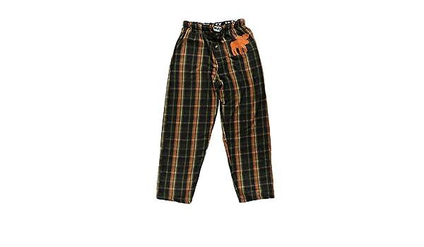 Lazyone da uomo modello Moose Flanella Pj Pantaloni per adulti