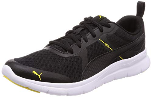 Puma Sportschuhe für Herren 365268 Flex Essential 19 Black-Blazing Schuhgröße - Puma Flex Essential