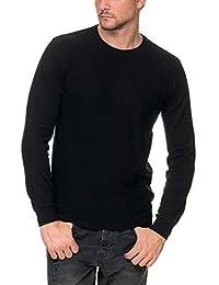 8b04c1d96843 SORBINO UOMO Men s Girocollo Sweater with Print Black