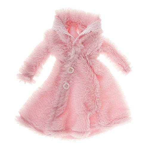 Sharplace Puppenkleidung Pelzigen Mantel Outfit Für Barbie-Puppen Winter Dress up Zubehör - (Kostüme Dress Up Barbie)