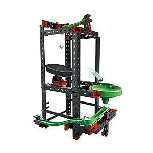 Fischertechnik Dynamic Trampoline - Juego Educativo y Divertido de Construcción de Trampolines para Circuitos de Canicas con 145 Piezas.
