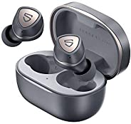 SOUNDPEATS Sonic True Wireless Earbuds with Mic, Bluetooth V5.2, with Qualcomm QCC3040, aptX-adaptive CVC 8.0