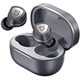 SOUNDPEATS Sonic True Wireless Earbuds with Mic, Bluetooth V5.2, with Qualcomm QCC3040, aptX-adaptive CVC 8.0 Noise Cancellat