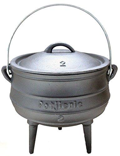 Potjie Gr.2 - Südafrikanischer Dutch Oven - für 2 - 6 Personen