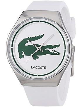 Lacoste Damen-Armbanduhr VALENCIA Analog Quarz Silikon 2000847