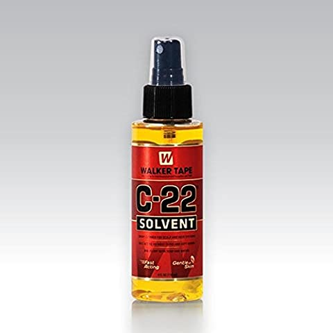C22 Solvent 4oz Spray for Lace Wigs & Toupees