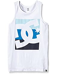 DC Shoes Topping Tank By B Tees WBN0 - Camiseta para niño, color blanco, talla 10/S