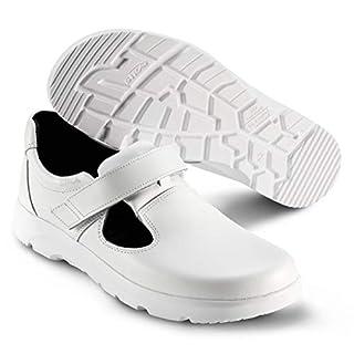 Sika 173110 Optimax Sandale O1 SRA - Weiß - Gr. 40