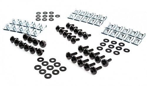 100 Stck Gummischeiben Unterlegscheiben Gummi Gummiunterlegscheiben M6 16x3