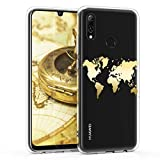 kwmobile Huawei P Smart (2019) Hülle - Handyhülle für Huawei P Smart (2019) - Handy Case in Gold Transparent