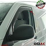 HIGH FLYING Cornice cromata per specchietto retrovisore deflettore pioggia per auto