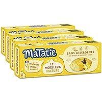 Matatie Moelleux Nature | Sans allergènes* & sans gluten | Lot de 4 paquets