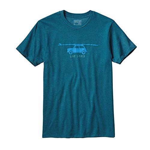Patagonia Live Simply Glider T-shirt deep sea blue