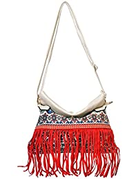 Designer Red Sling & Cross Body Bag For Women & Girls By Bagris GE01001866