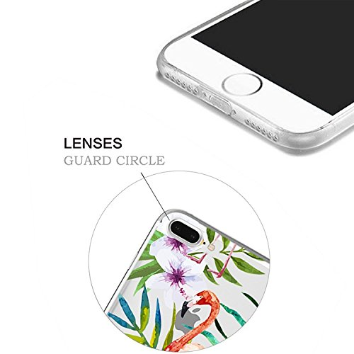 iPhone 7 Plus Transparente Case iPhone 7 Plus 5.5 pouces Cover,MingKun Ultra Mince Transparente Soft TPU Silicone Clair Transparente Case iPhone 7 Plus 5.5 pouces Cover pour iPhone 7 Plus Clair Étui H Picture-6
