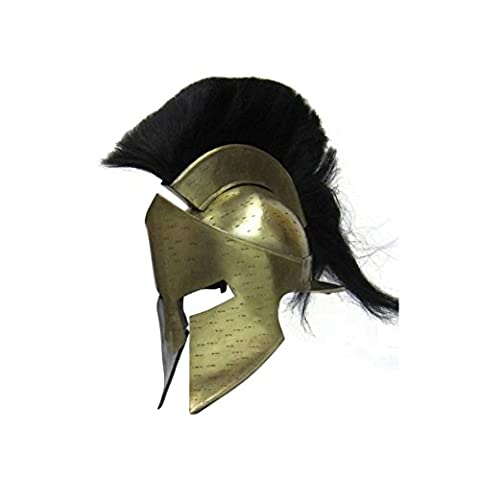 Armor Venue King Leonidas 300 Movie Greek Spartan Helmet One Size - Antique