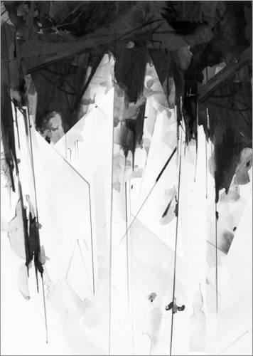 Poster 21 x 30 cm: Macy von Alexis Marcou - hochwertiger Kunstdruck, neues Kunstposter