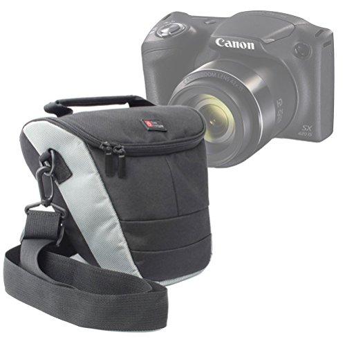 DURAGADGET Etui de Rangement pour Appareil Photo Bridge Canon PowerShot SX420 is et SX540 HS et Leurs Accessoires - lanière de Transport Bonus
