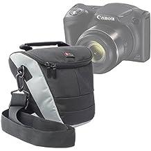 Etui de rangement pour appareil photo Bridge Canon PowerShot SX420 IS et SX540 HS et leurs accessoires - lanière de transport BONUS