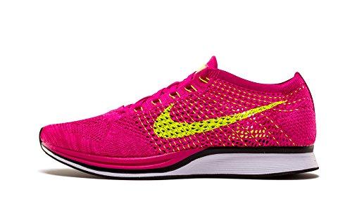 Nike Flyknit Racer - Sneakers, Unisexe, Rose Adulte