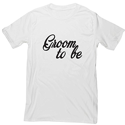 Hippowarehouse Groom to be Unisex Short Sleeve t-Shirt (Specific Size Guide in Description)