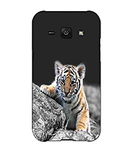 SAMSUNG J1 PRINTED BACK COVER BY aadia