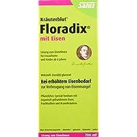 Floradix mit Eisen, 700 ml - Alternative zu Eisentabletten - Pflanzliches Spezial-Tonikum Schwangere & Kinder ab 6 - Eisenpräparat zur Vorbeugung von Eisenmangel
