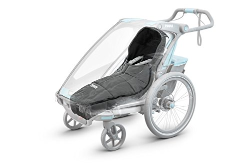 Thule Fußsack für Kinder-Fahrradanhänger - Thule Footmuff Sport Grau