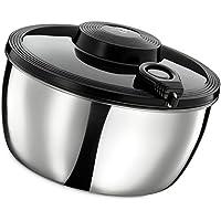 Küchenprofi 13 7008 28 00 - Centrifugador para lechuga de acero inoxidable
