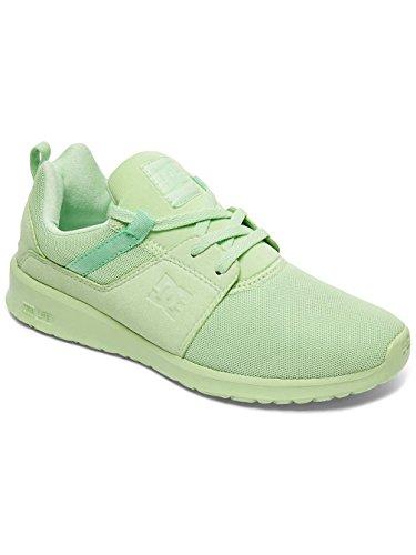 DC Shoes Heathrow, Scarpe da Ginnastica Basse Donna Vert - Pistachio Green