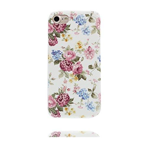 iPhone 6S Custodia, Case iPhone 6 6s Copertura 4.7 pollici / Disegno unico del materiale di TPU Cartoon Cute Fantasy Protettivo Cover / Graffi Resistenza agli urti - fiore di ciliegio floreale fiore