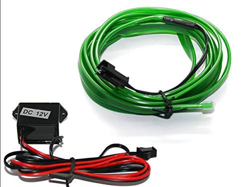 EL Barre Lumineuse - Éclairage d'intérieur Vert - Pas de LED de 1 m (6,99 €/m) - 5 m (3,59 €/m).