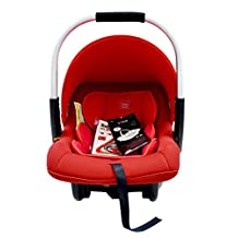 Babyauto Otar Baby Car Seat, From birth to 12 Months, From 0kg to 10 kg-Red