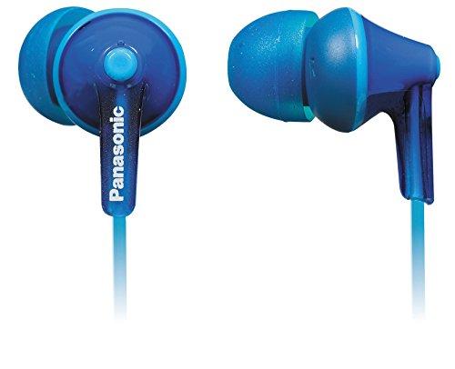 Panasonic RP-TCM125E-A In-Ear Kopfhörer (Mikrofon, Controller, 10-24.000 Hz, 1,2 m Kabel) blau (Panasonic Usb-headset)
