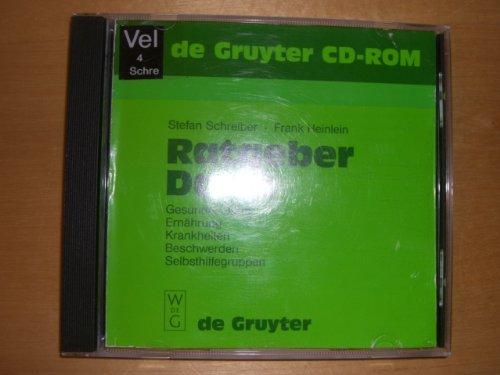 Ratgeber Darm, 1 CD-ROM Gesunder Darm, Ernährung, Krankheiten, Beschwerden, Selbsthilfegruppen. Für Windows 3.1/95